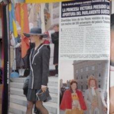 Coleccionismo de Revistas y Periódicos: SILVIA DE SUECIA SYLVIA SOMERLATH VICTORIA. Lote 277044548