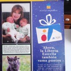 Coleccionismo de Revistas y Periódicos: ANUNCIO LIBRETA ESTRELLA LA CAIXA. Lote 277044653