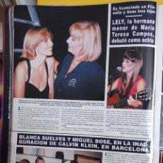 Coleccionismo de Revistas y Periódicos: LELY MARIA TERESA CAMPOS MIGUEL BOSE BLANCA SUELVES. Lote 277045098