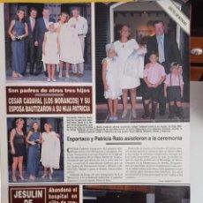 Coleccionismo de Revistas y Periódicos: JESULIN DE UBRIQUE LOS MORANCOS CESAR CADAVAL. Lote 277045128