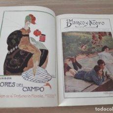 Coleccionismo de Revistas y Periódicos: TOMO ENCUADERNADO DE REVISTAS BLANCO Y NEGRO - AÑO 1916 - 1ER SEMESTRE .. Lote 277049523