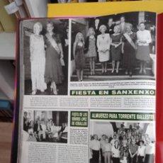 Coleccionismo de Revistas y Periódicos: SANXENXO TORRENTE BALLESTER. Lote 277049778