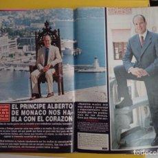 Coleccionismo de Revistas y Periódicos: ALBERTO DE MONACO CAROLINA ESTEFANIA XXX. Lote 277050018