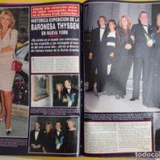 Coleccionismo de Revistas y Periódicos: TITA CERVERA CARMEN THYSSEN MISS ESPAÑA. Lote 277050458