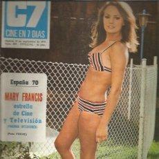 Coleccionismo de Revistas y Periódicos: C7 CINE EN 7 DIAS 493. Lote 277081033