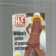 Coleccionismo de Revistas y Periódicos: HEALTH EFFICIENCY REVISTA NATURISTA 1974 EN INGLES. Lote 277081378
