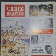 Coleccionismo de Revistas y Periódicos: CÁDIZ GRÁFICO Nº 151. 1 ENERO 1984. LEER:. Lote 277095793