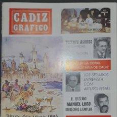 Coleccionismo de Revistas y Periódicos: CÁDIZ GRÁFICO Nº 151. 1 ENERO 1984. LEER:. Lote 277095948