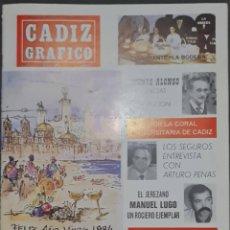 Coleccionismo de Revistas y Periódicos: CÁDIZ GRÁFICO Nº 151. 1 ENERO 1984. LEER:. Lote 277096158