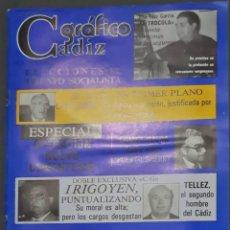 Coleccionismo de Revistas y Periódicos: CÁDIZ GRÁFICO Nº 145. 30 OCTUBRE 1982. LEER:. Lote 277096428