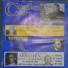 Coleccionismo de Revistas y Periódicos: CÁDIZ GRÁFICO Nº 145. 30 OCTUBRE 1982. LEER:. Lote 277096533