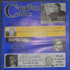 Coleccionismo de Revistas y Periódicos: CÁDIZ GRÁFICO Nº 145. 30 OCTUBRE 1982. LEER:. Lote 277096608