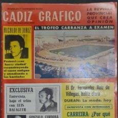 Coleccionismo de Revistas y Periódicos: CÁDIZ GRÁFICO Nº 136. SEPTIEMBRE 1980. LEER:. Lote 277098858