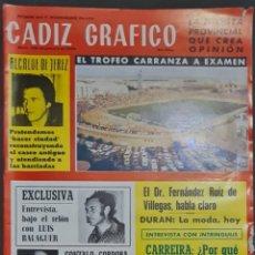Coleccionismo de Revistas y Periódicos: CÁDIZ GRÁFICO Nº 136. SEPTIEMBRE 1980. LEER:. Lote 277099003