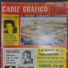 Coleccionismo de Revistas y Periódicos: CÁDIZ GRÁFICO Nº 136. SEPTIEMBRE 1980. LEER:. Lote 277099153