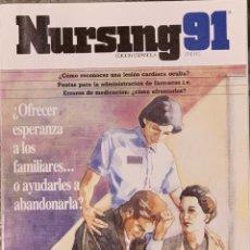 Coleccionismo de Revistas y Periódicos: REVISTA NURSING. Nº 1. VOLUMEN 9. ENERO 1991.. Lote 277111518