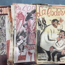 Coleccionismo de Revistas y Periódicos: LOTE 45 EJEMPLARES LA CODORNIZ. Lote 277117063