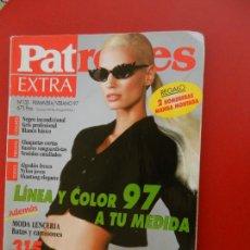 Coleccionismo de Revistas y Periódicos: REVISTA PATRONES EXTRA - Nº 133 - PRIMAVERA /VERANO 1997 - CON PATRONES.. Lote 277144898