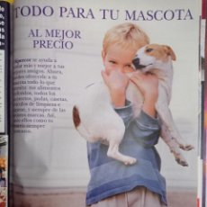 Coleccionismo de Revistas y Periódicos: ANUNCIO COMIDA MASCOTAS. Lote 277161078
