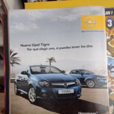 Coleccionismo de Revistas y Periódicos: ANUNCIO OPEL TIGRA. Lote 277161203