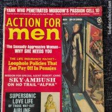 Coleccionismo de Revistas y Periódicos: ACTION FOR MEN MAGAZINE VOL. 13 Nº 4 JULY 1969. Lote 277167548