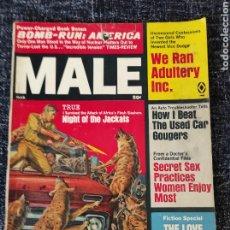 Coleccionismo de Revistas y Periódicos: MALE MAGAZINE VOL. 19 Nº 3 MARCH 1969. Lote 277168693