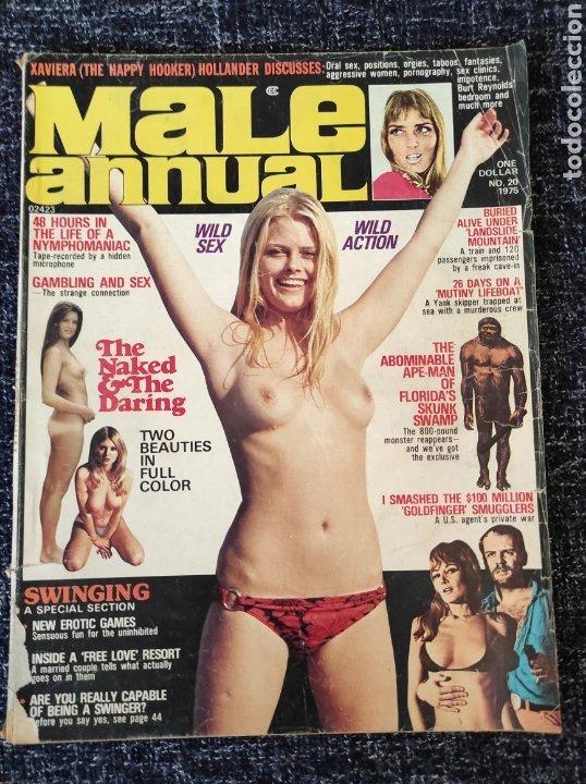 MALE ANNUAL MAGAZINE Nº 20 1975 EDICION AMERICANA (Coleccionismo - Revistas y Periódicos Modernos (a partir de 1.940) - Otros)