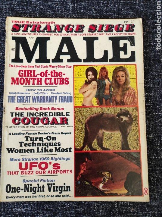 MALE MAGAZINE VOL. 19 Nº 12 DECEMBER 1969 EDICION AMERICANA (Coleccionismo - Revistas y Periódicos Modernos (a partir de 1.940) - Otros)