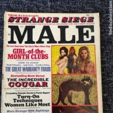 Coleccionismo de Revistas y Periódicos: MALE MAGAZINE VOL. 19 Nº 12 DECEMBER 1969. Lote 277170058
