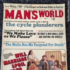 Coleccionismo de Revistas y Periódicos: MAN'S WORLD MAGAZINE VOL. 15 Nº 5 OCTOBER 1969. Lote 277171803