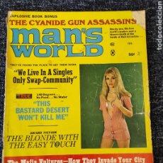 Coleccionismo de Revistas y Periódicos: MAN'S WORLD MAGAZINE VOL. 16 Nº 1 FEBRUARY 1970. Lote 277172118