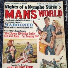 Coleccionismo de Revistas y Periódicos: MAN'S WORLD MAGAZINE VOL. 14 Nº 1 FEBRUARY 1968. Lote 277172288