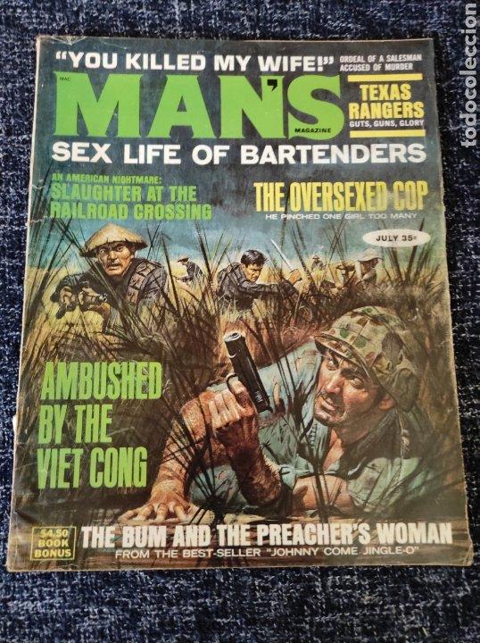 MANS MAGAZINE VOL. 15 Nº 7 JULY 1967 EDICION AMERICANA (Coleccionismo - Revistas y Periódicos Modernos (a partir de 1.940) - Otros)