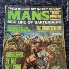 Coleccionismo de Revistas y Periódicos: MANS MAGAZINE VOL. 15 Nº 7 JULY 1967. Lote 277172608