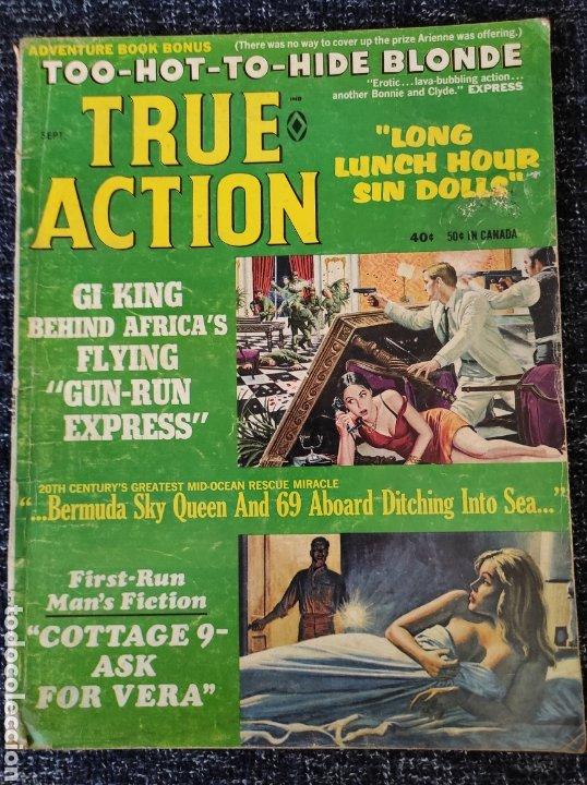TRUE ACTION MAGAZINE VOL. 13 Nº 5 SEPTEMBER 1968 EDICION AMERICANA (Coleccionismo - Revistas y Periódicos Modernos (a partir de 1.940) - Otros)