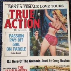 Coleccionismo de Revistas y Periódicos: TRUE ACTION MAGAZINE VOL. 12 Nº 4 JULY 1967. Lote 277178583