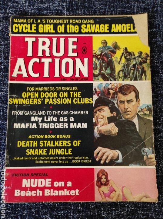 TRUE ACTION MAGAZINE VOL. 14 Nº 3 MAY 1969 EDICION AMERICANA (Coleccionismo - Revistas y Periódicos Modernos (a partir de 1.940) - Otros)