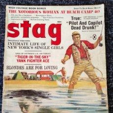 Coleccionismo de Revistas y Periódicos: STAG MAGAZINE VOL. 18 Nº 7 JULY 1967. Lote 277179303