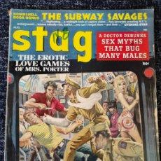 Coleccionismo de Revistas y Periódicos: STAG MAGAZINE VOL. 19 Nº 8 AUGUST 1968. Lote 277179383