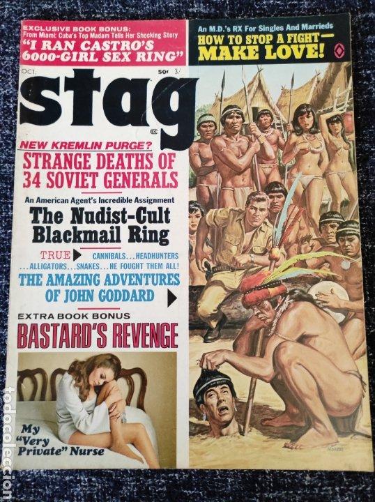 STAG MAGAZINE VOL. 20 Nº 10 OCTOBER 1969 EDICION AMERICANA (Coleccionismo - Revistas y Periódicos Modernos (a partir de 1.940) - Otros)