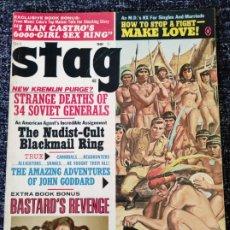 Coleccionismo de Revistas y Periódicos: STAG MAGAZINE VOL. 20 Nº 10 OCTOBER 1969. Lote 277179443
