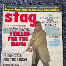Coleccionismo de Revistas y Periódicos: STAG MAGAZINE VOL. 20 Nº 9 SEPTEMBER 1969. Lote 277179543