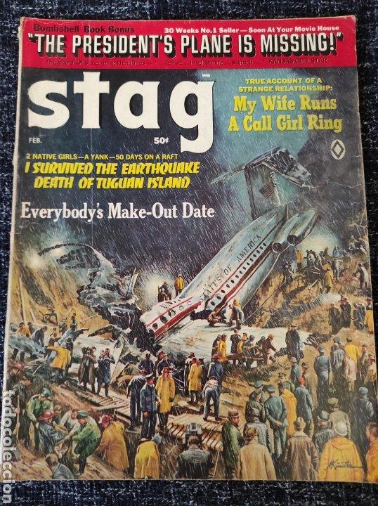 STAG MAGAZINE VOL. 20 Nº 2 FEBRUARY 1969 EDICION AMERICANA (Coleccionismo - Revistas y Periódicos Modernos (a partir de 1.940) - Otros)