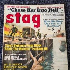 Coleccionismo de Revistas y Periódicos: STAG MAGAZINE VOL. 20 Nº 1 JANUARY 1969. Lote 277179798