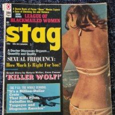 Coleccionismo de Revistas y Periódicos: STAG MAGAZINE VOL. 21 Nº 11 OCTOBER 1970. Lote 277179963