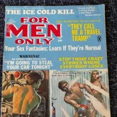 Coleccionismo de Revistas y Periódicos: FOR MEN ONLY MAGAZINE VOL. 16 Nº 5 MAY 1969. Lote 277180878