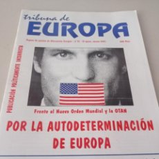 Colecionismo de Revistas e Jornais: REVISTA TRIBUNA DE EUROPA, NÚM.11 2ª EPOCA VERANO 1997 ALTERNATIVA EUROPEA. REF UR EST. Lote 277261713
