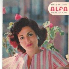 Coleccionismo de Revistas y Periódicos: LABORES ALFA. Nº 59. PRIMAVERA, 1959. DEBBIE REYNOLDS / DEBORAH KERB / KIM NOVAK/ MARILYN MONROE(*. Lote 277266218