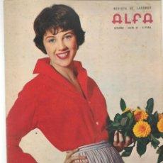 Coleccionismo de Revistas y Periódicos: REVISTA DE LABORES ALFA. Nº 61. LANA TURNER. OTOÑO, 1959. (P/B60). Lote 277266863