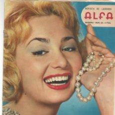 Coleccionismo de Revistas y Periódicos: REVISTA DE LABORES ALFA. Nº 62. LA MODA EN AMÉRICA. INVIERNO, 1959. (P/B60). Lote 277267218